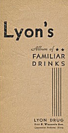 Lyon's Album Of Familiar Drinks