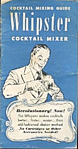 Vintage Whiipster Cocktail Mixing Guide