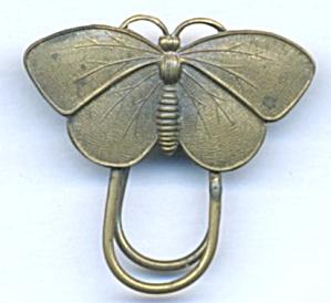 Vintage Brass Moth Bookmark (Image1)