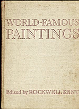 Vintage Art Book: World Famous Paintings (Image1)