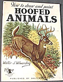 Vintage How To Draw & Paint Hoofed Animals