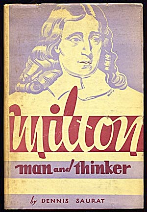 Vintage Biography: Milton, Man & Thinker (Image1)