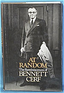 At Random The Reminiscence Of Bennett Cerf