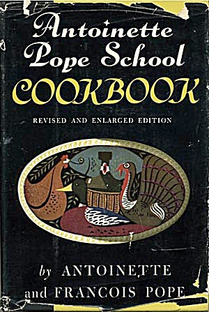 Antoinette Pope School Cookbook (Image1)