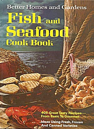 Fish & Seafood Cook Book Better Homes & Gardens