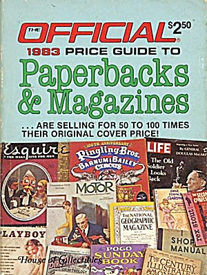 Official 1983 Price Guide to Paperbacks & Magazines (Image1)