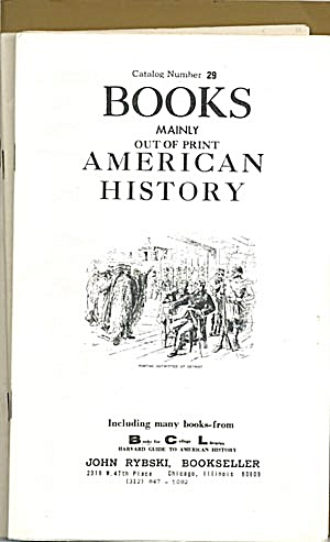 Book Catalogs: American History
