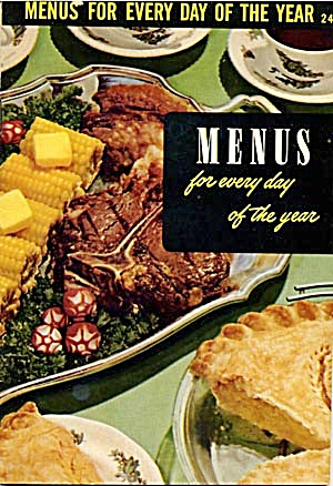 Menus For Every Day Of The Year (Image1)
