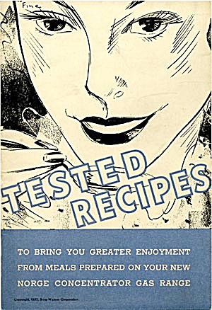 Tested Recipes Norge Gas Range