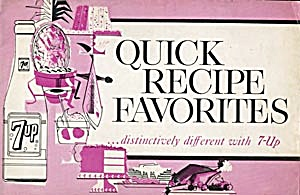 Vintage Quick Recipe Favorites Distinctively differnt (Image1)