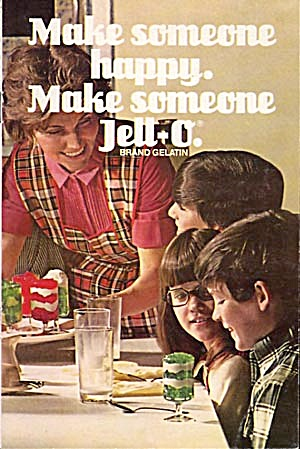 Vintage Make Someone Happy Make Someone Jello
