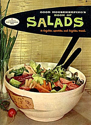 Vintage Good Housekeeping Book Salads Cook Book (Image1)