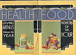 Vintage Health Food Cook Book