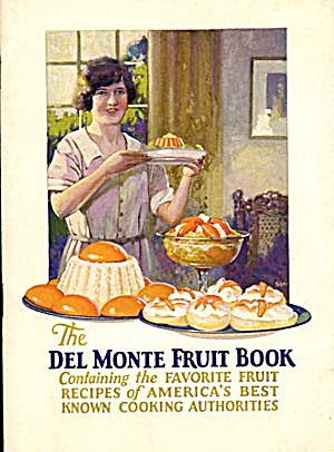 Vintage The Del Monte Fruit Book Cook Book (Image1)