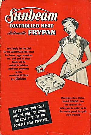 Vintage Sunbeam Controlled Heat Frypan