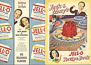 Vintage Jack & Mary's Jell-o Recipe Book