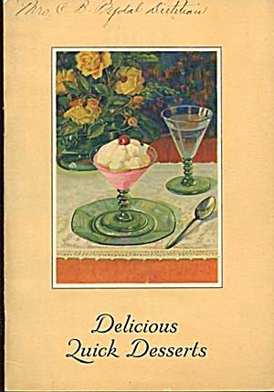 Vintage Delicious Quick Desserts (Image1)