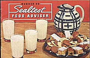 Vintage #90 Sealtest Food Adviser Cook Book (Image1)