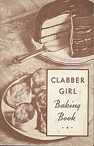 Vintage Clabber Girl Baking Book