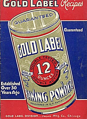 Vintage Gold Label Baking Powder Recipes (Image1)