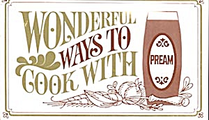 Vintage Wonderful Ways To Cook With Pream Recipes (Image1)