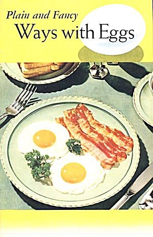 Vintage Plain & Fancy Ways With Eggs Cookbook (Image1)