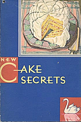 Vintage New Cake Secrets, Swans Down