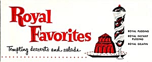 Royal Favorites Tempting Desserts And Salads