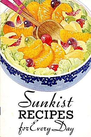 Sunkist Recipes for Every Day 1934 (Image1)
