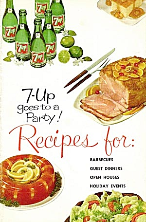 7UP Goes to a Party Recipes for Barbecues, Guest Dinner (Image1)