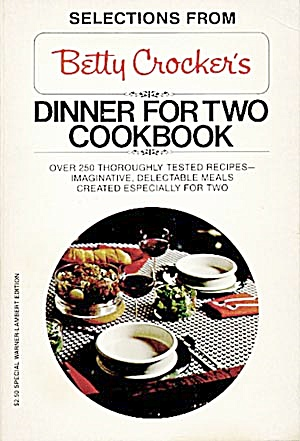 Betty Crocker's Dinner For Two Cookbook (Image1)