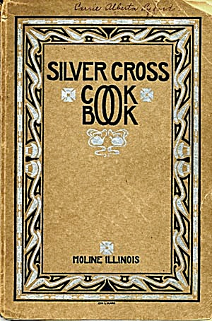 Silver Cross Cook Book of King's Daughters (Image1)