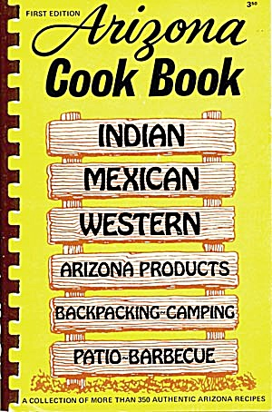 First Edition Arizona Cook Book (Image1)