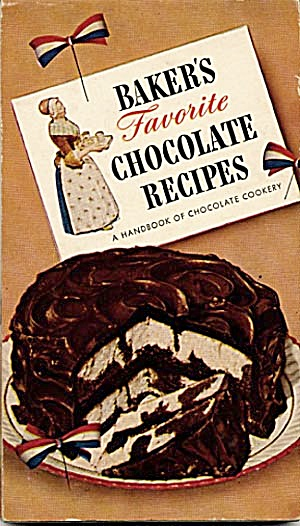 Baker�s Favorite Chocolate Recipes Cookbook (Image1)