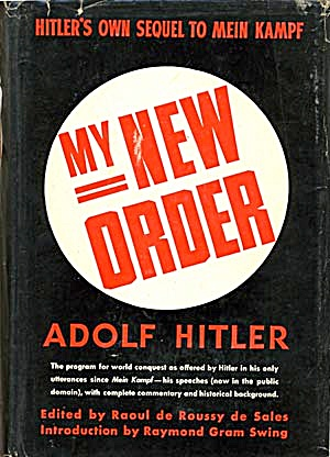 My New Order, Sequel to Mein Kampf (Image1)