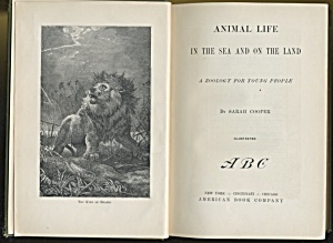 Animal Life In The Sea And On The Land