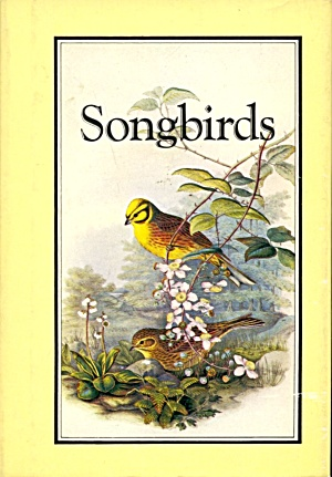 Songbirds Book Of Poetry
