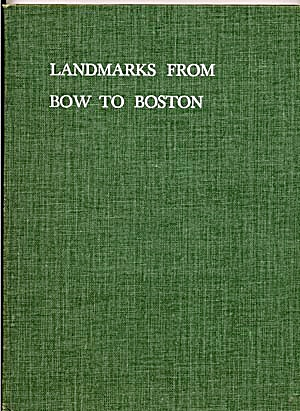 Landmarks From Bow To Boston