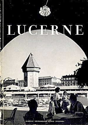 Vintage Book on Lucerne Switzerland (Image1)
