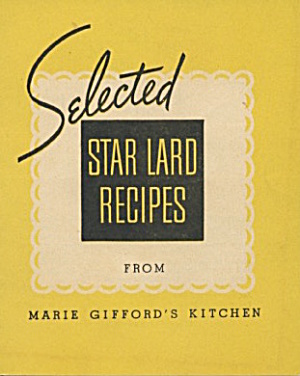 Selected Star Lard Recipes (Image1)