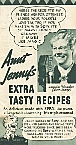 Aunt Jenny's Extra Tasty Recipes