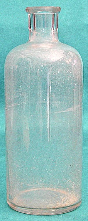 Vintage Clear Glass Bottle (Image1)