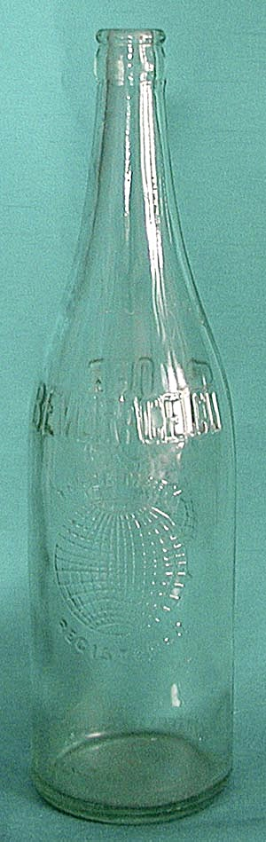 Vintage Globe Beverage Co. Bottle