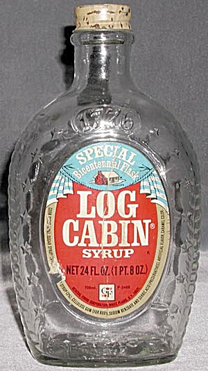 Log Cabin Bicentennial Bottle (Image1)