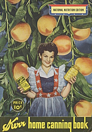 Kerr Home Canning Book National Nutrition Edition (Image1)