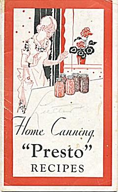 Home Canning Presto Recipes (Image1)