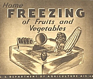 Home Freezing Of Fruit & Vegetables