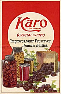 Karo Improves Your Preserves, Jams And Jellies