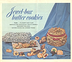 Jewel-box Butter Cookies