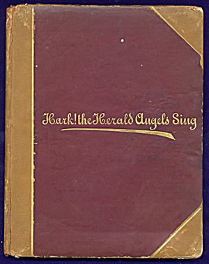 Vintage Religious Book: Hark The Harold Angel Sings (Image1)